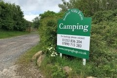 Fylde Trout Fishery Camping