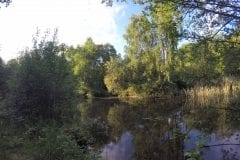 Secluded Corner Mere Brow Leisure Lakes